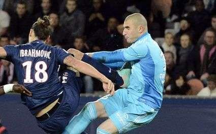 ASSE : Comment Ruffier s'est joué d'Ibrahimovic et Thiago Silva