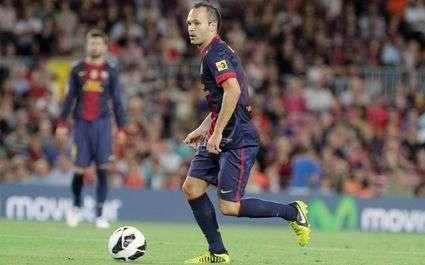 FC Barcelone - Iniesta : « Je continue à grandir »