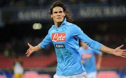Serie A : Naples et Cavani écrasent la Roma