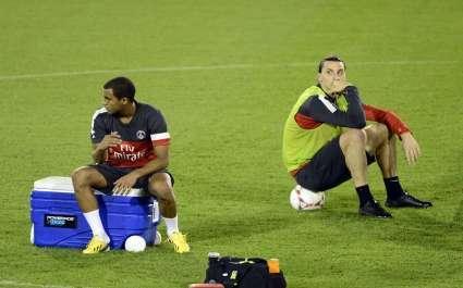 Zlatan Ibrahimovic Lucas Moura