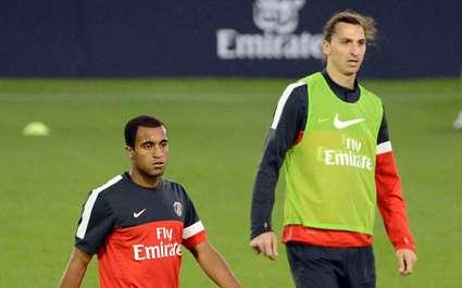 Ibrahimovic : « Lucas est un joueur fantastique »