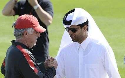 PSG : Ancelotti « heureux » du soutien de son président