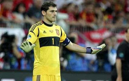 Casillas meilleur gardien du monde 5 fois de suite