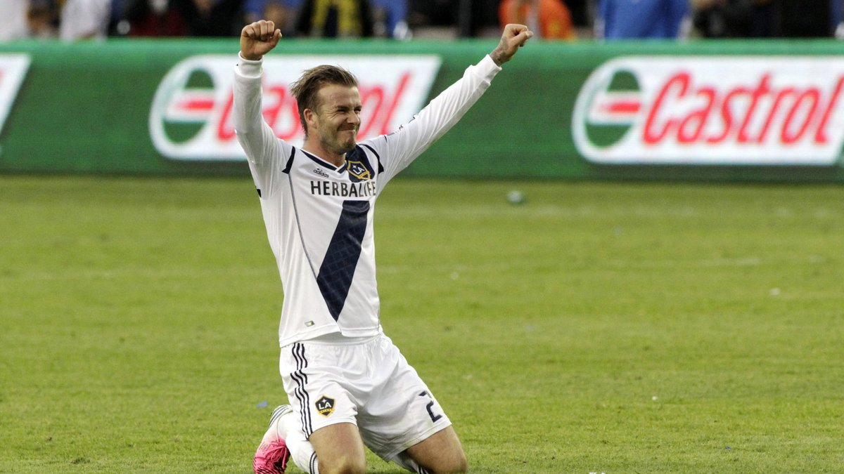 David Beckham Los Angeles Galaxy PSG