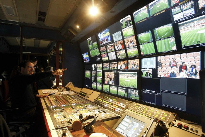 Canal Premier League Caméra Régie TV