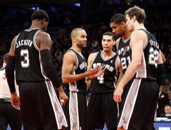Spurs, Parker