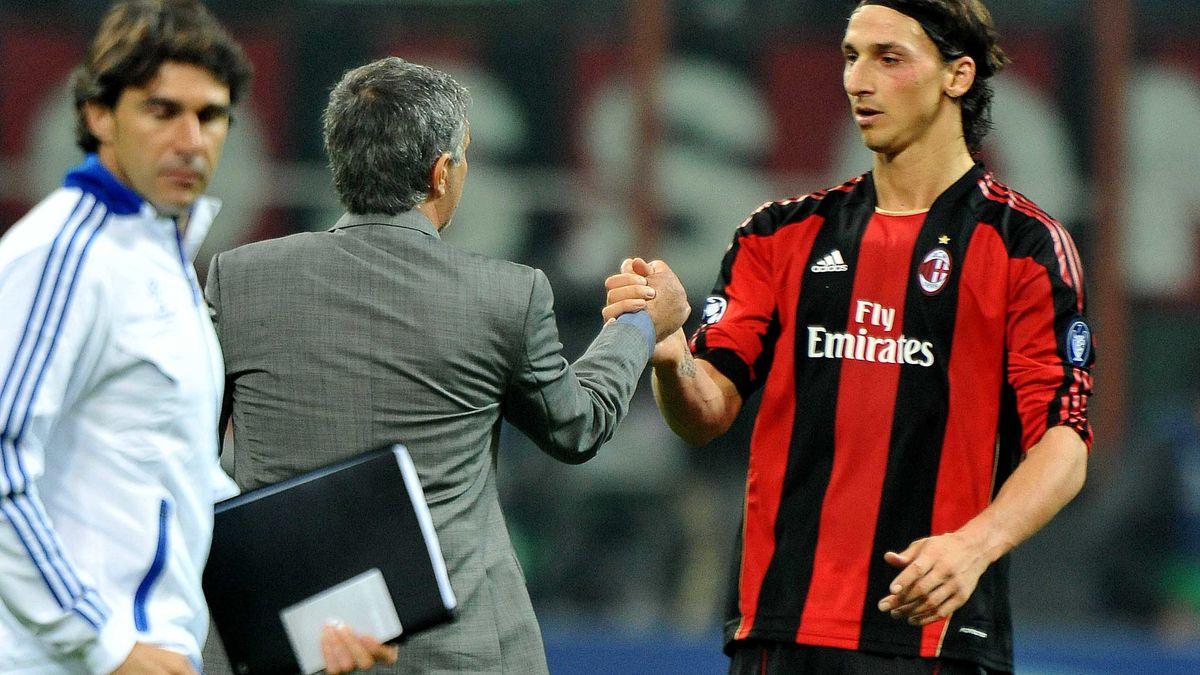 José Mourinho, Zlatan Ibrahimovic