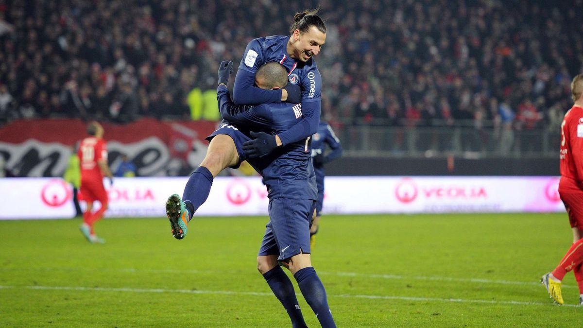 Zlatan Ibrahimovic, Jérémy Ménez, PSG