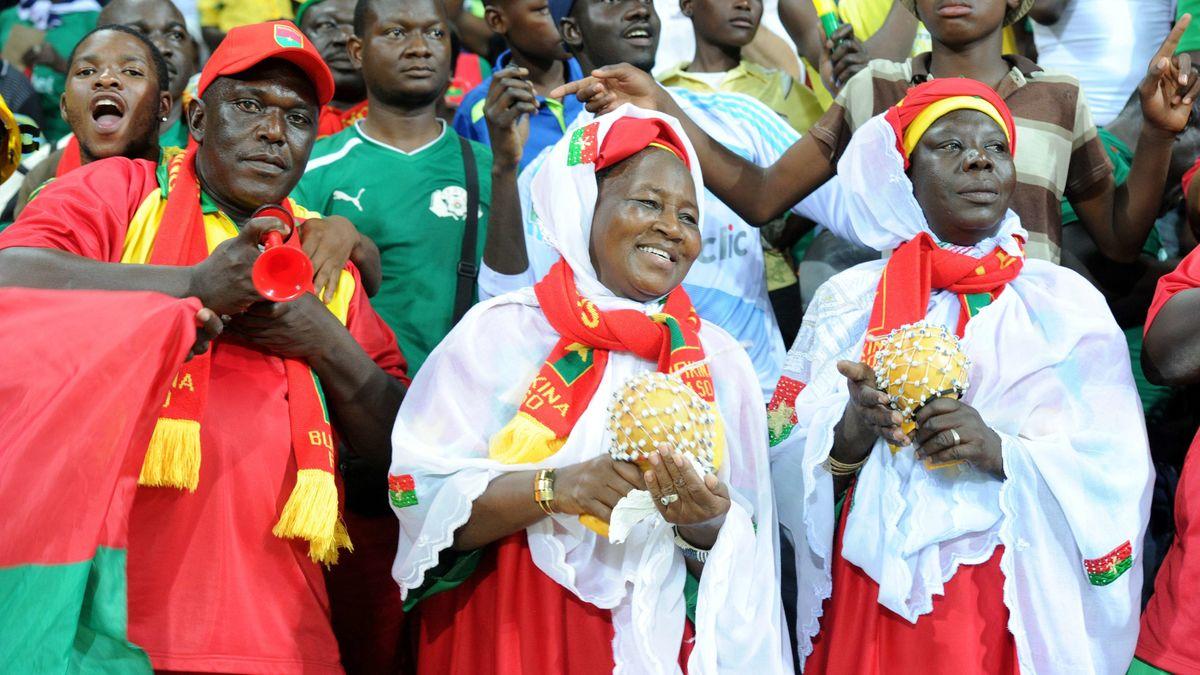 supporters Burkina Faso