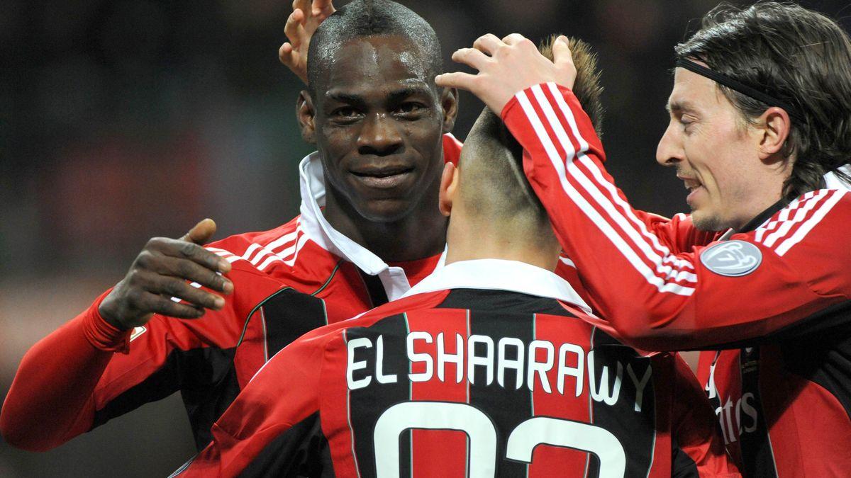Mario Balotelli, Milan AC, Udinese