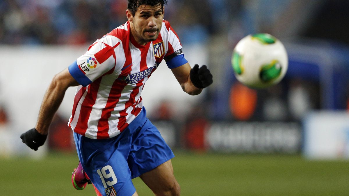 Diego Costa, l'Atletico Madrid
