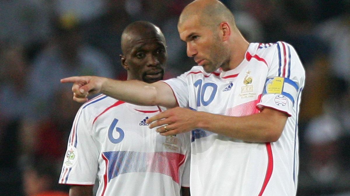 Claude Makelele, Zinedine Zidane