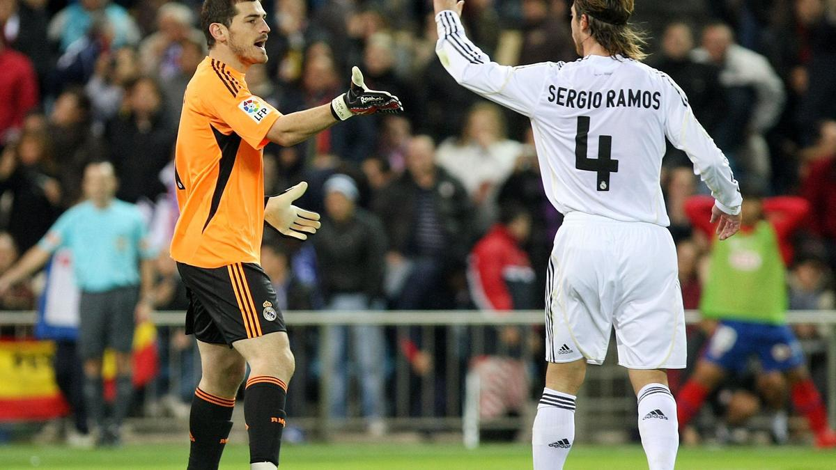 Iker Casillas, Sergio Ramos - Real Madrid