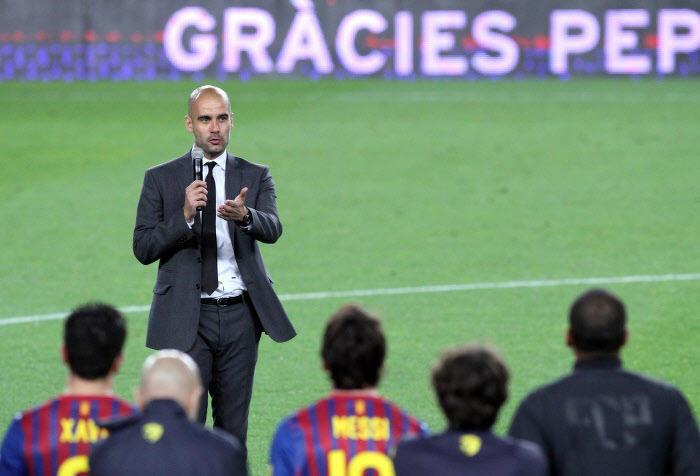 Pep Guardiola, FC Barcelone