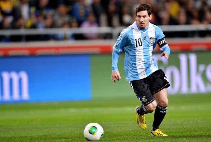 Messi, Argentine