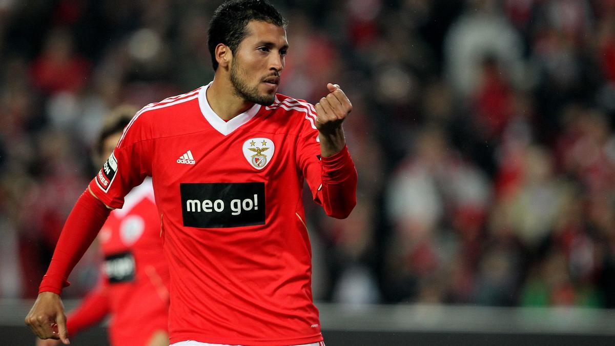 Ezekyel Garay avec Benfica