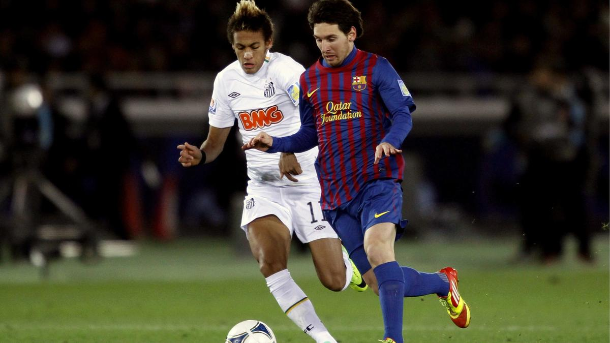 Neymar et Messi