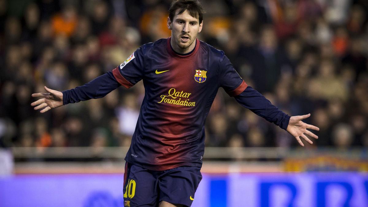 Messi en blaugrana