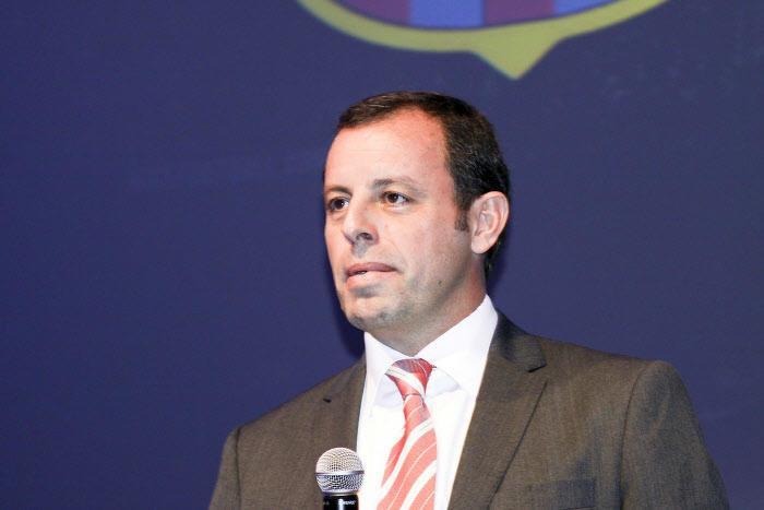 Sandro Rosell, Barça