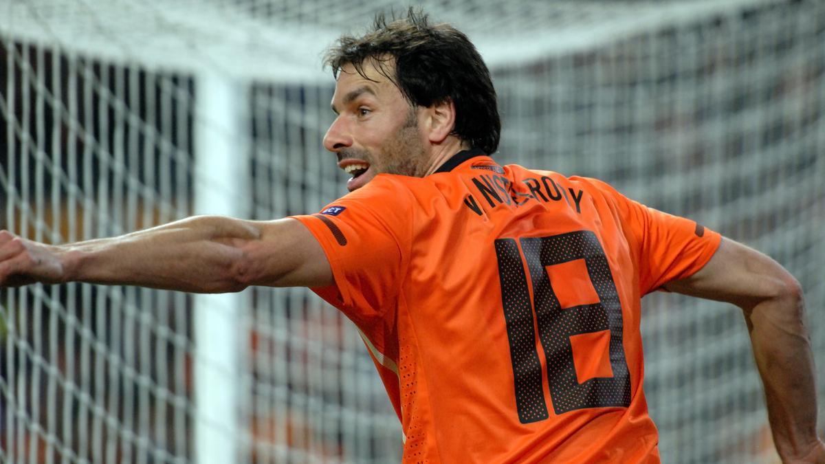 Van Nistelrooy avec Pays-Bas