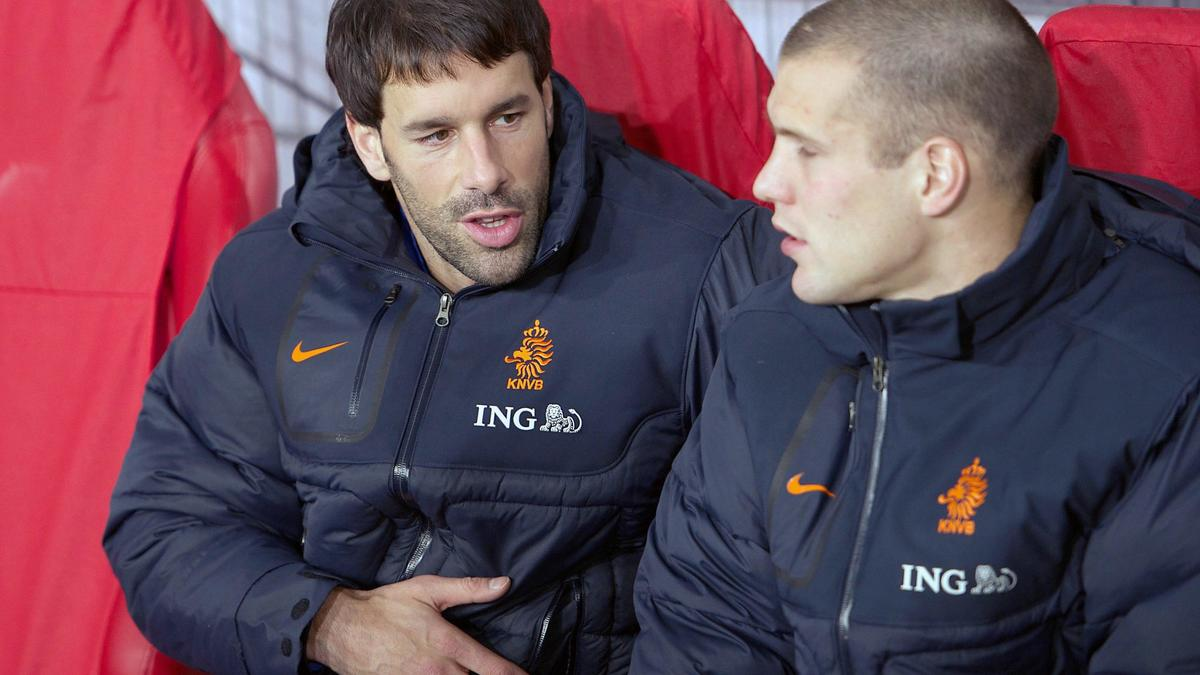 Van Nistelrooy avec les Pays-Bas