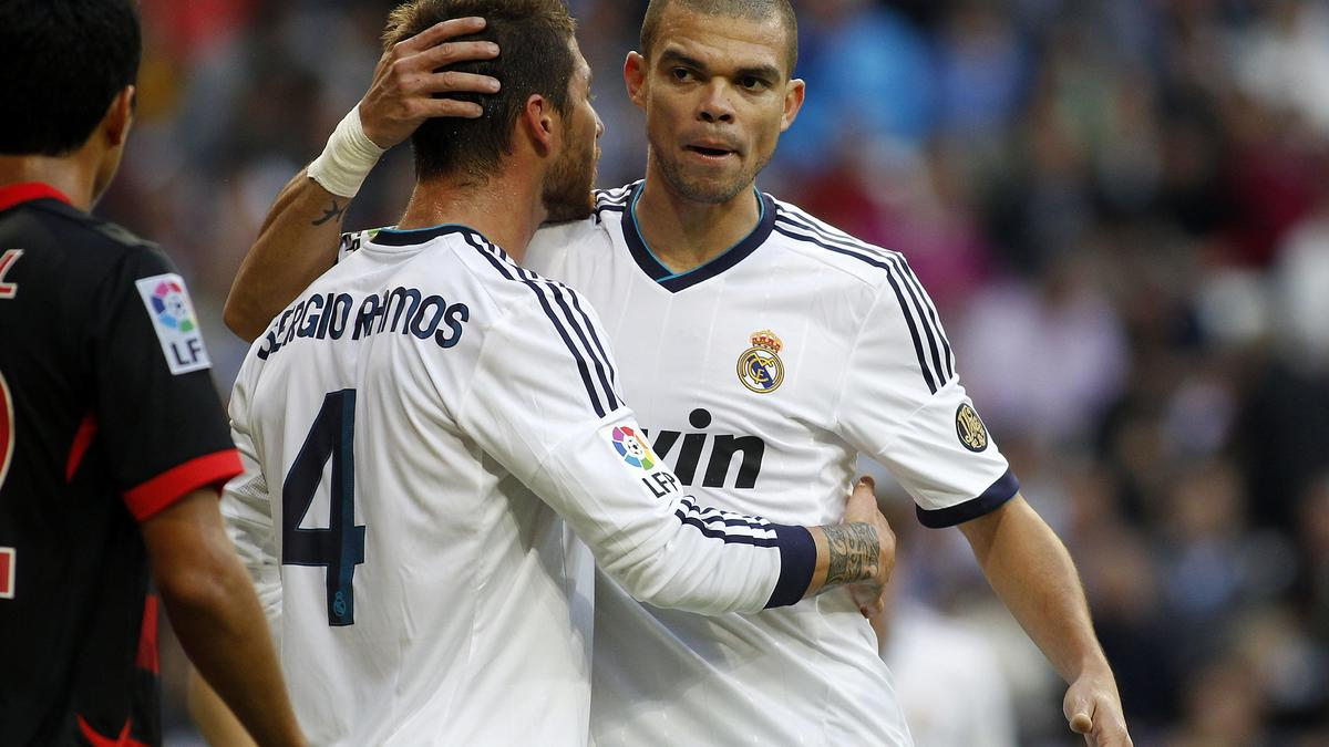Pepe et Sergio Ramos