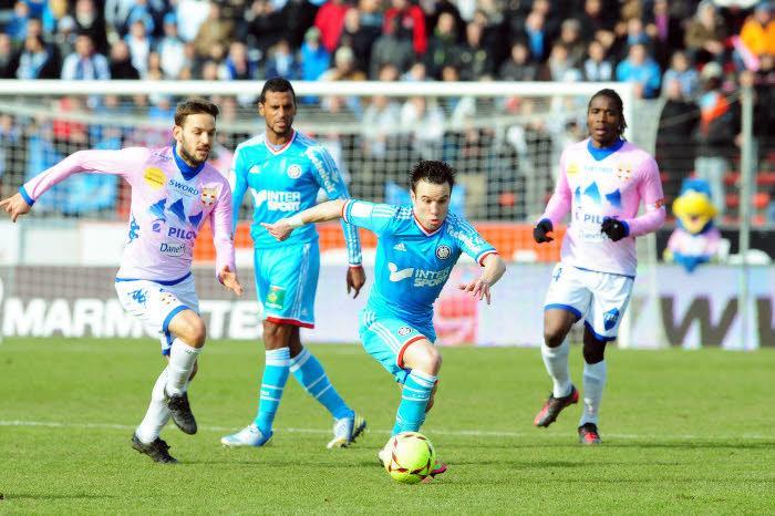 Résultat Ligue 1 : Evian-Marseille 1-1 (FM)