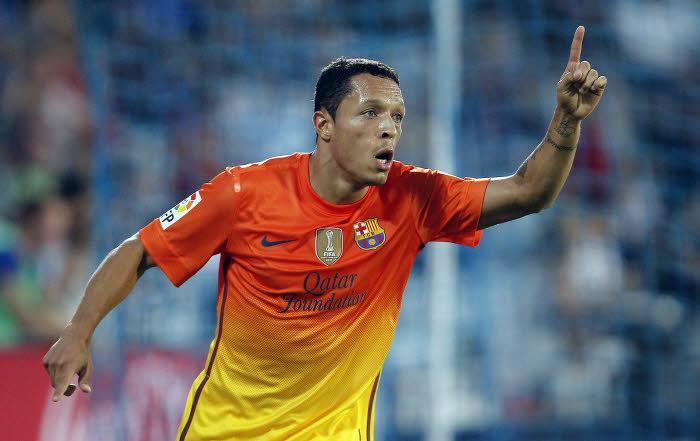 Adriano, Barça