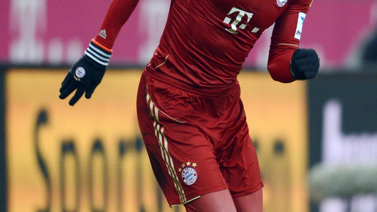 Arjen Robben ne baisse pas les bras