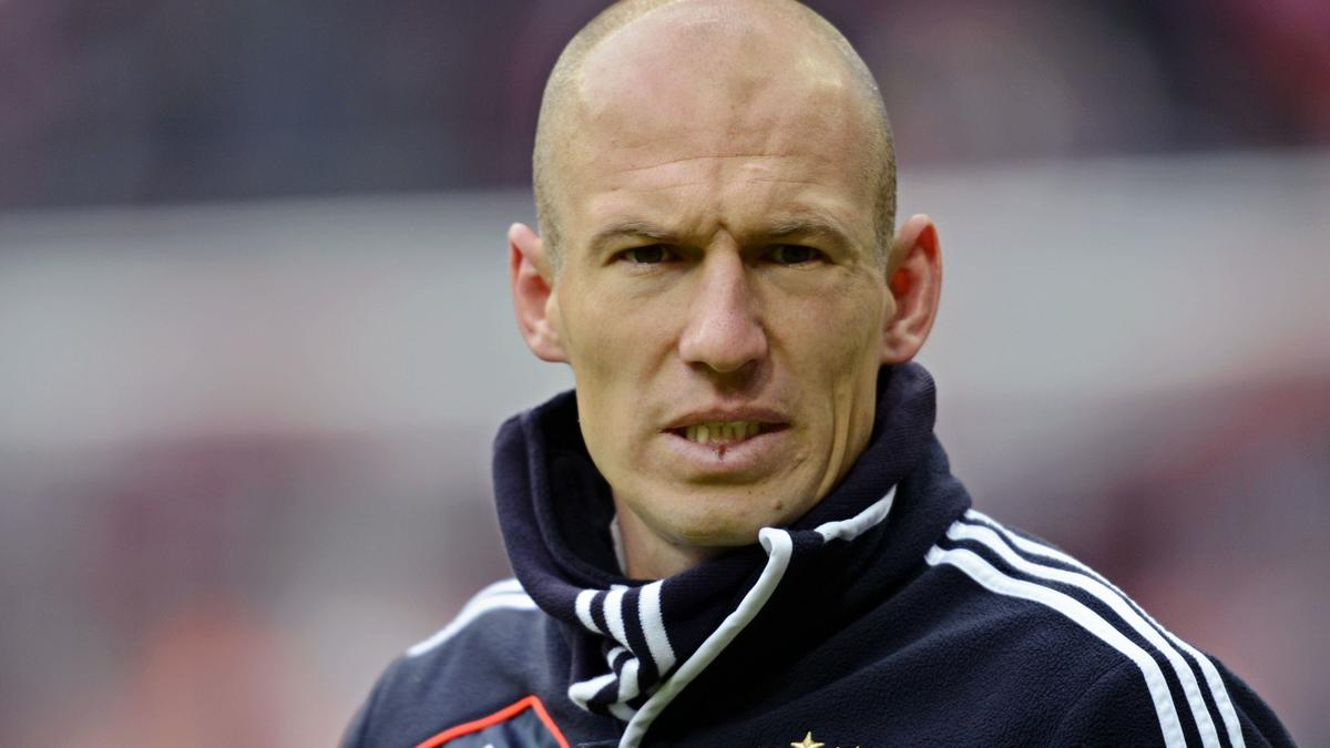 Robben attend son heure