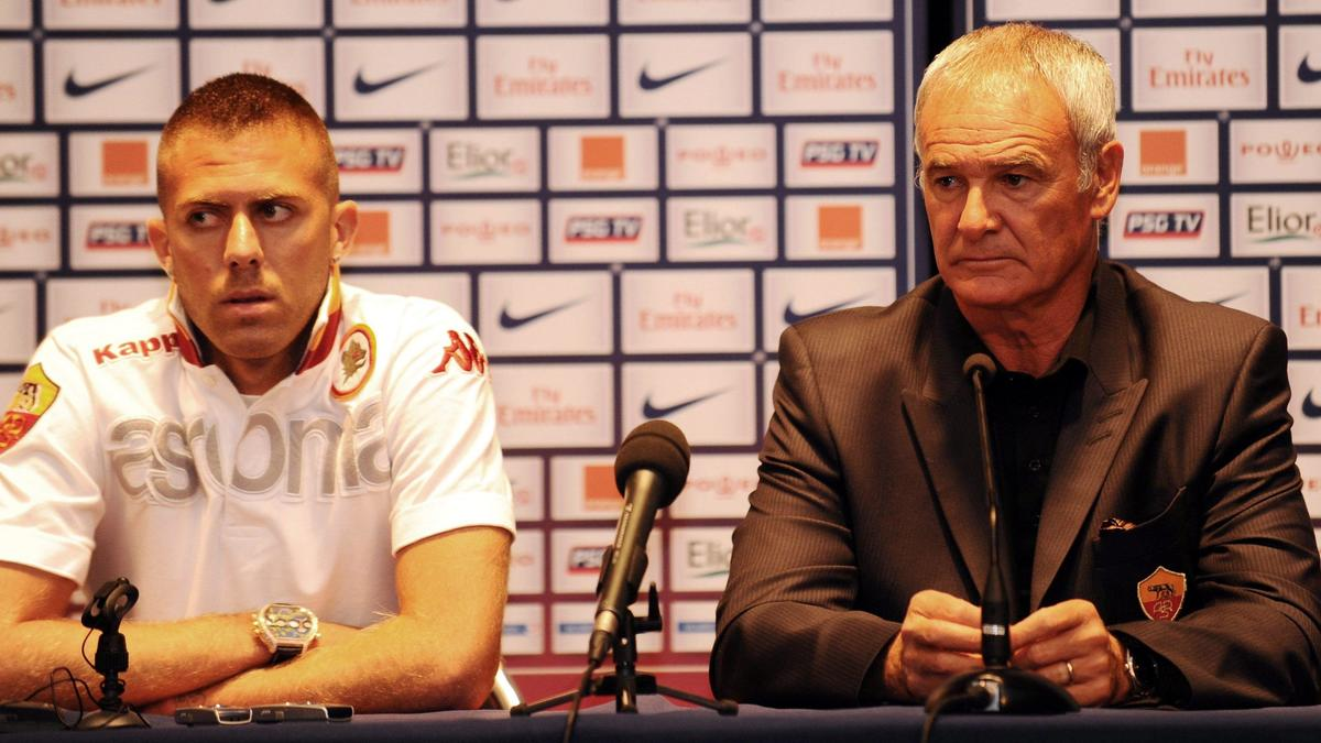 Jérémy Ménez et Claudio Ranieri