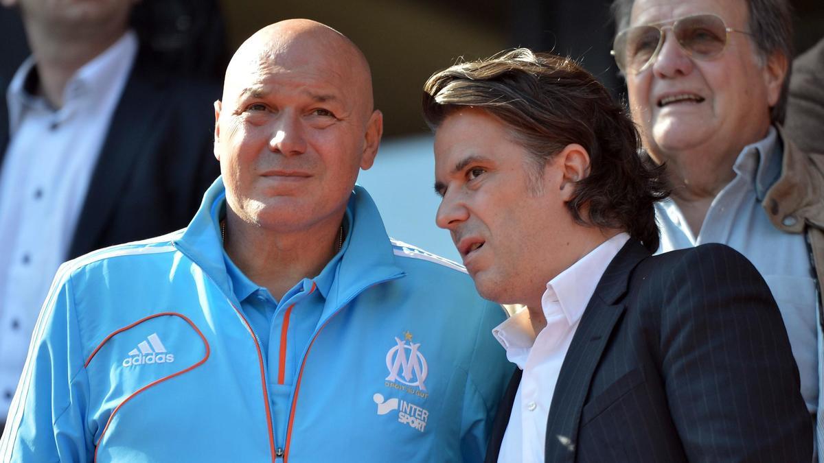 José Anigo & Vincent Labrune, OM