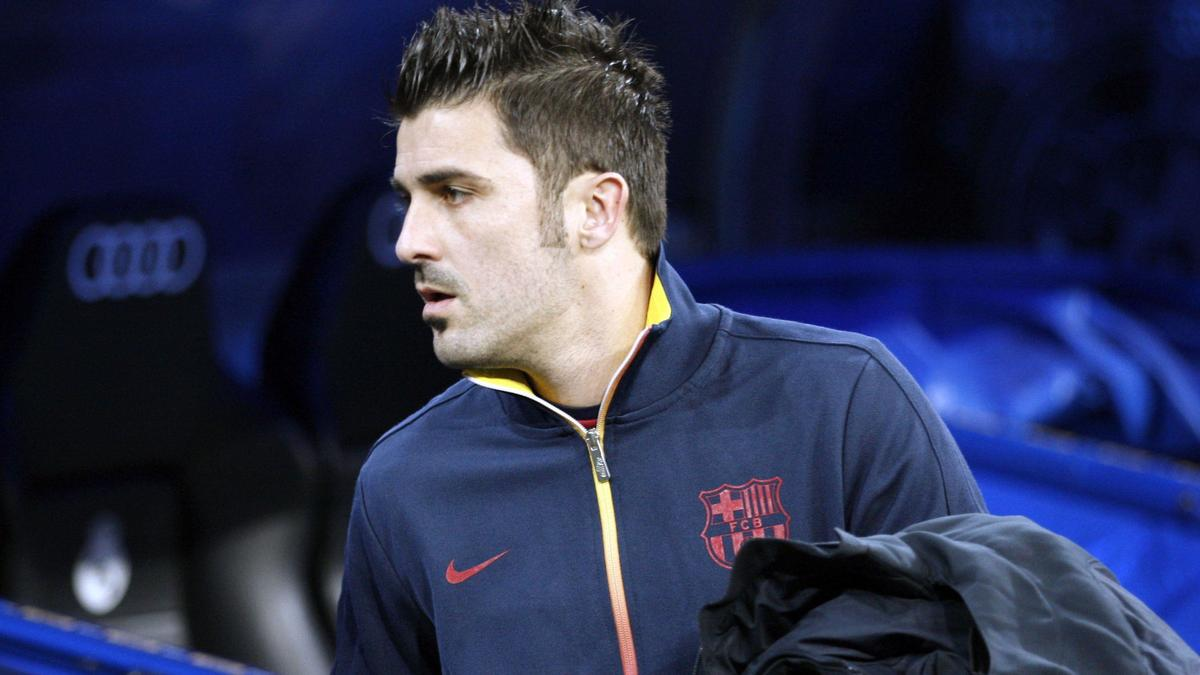 David Villa - FC Barcelone