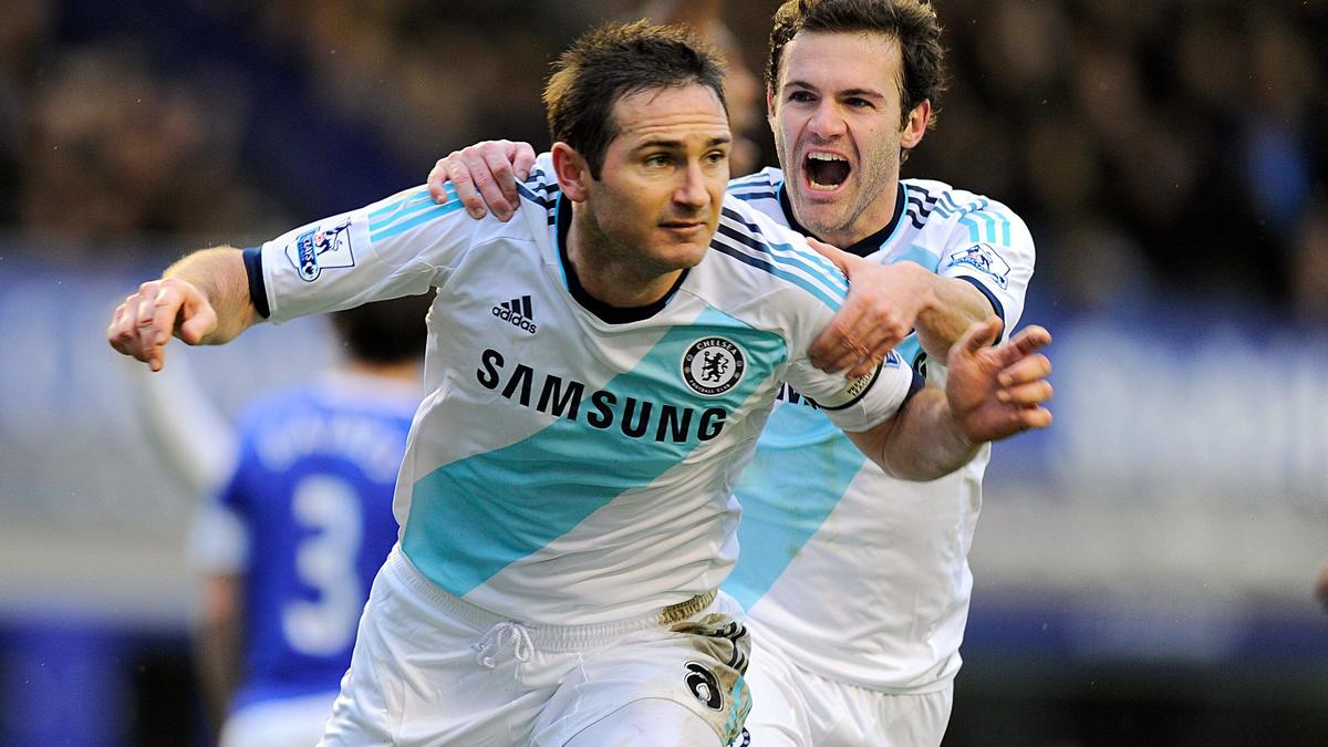 Frank Lampard, Juan Mata - Chelsea