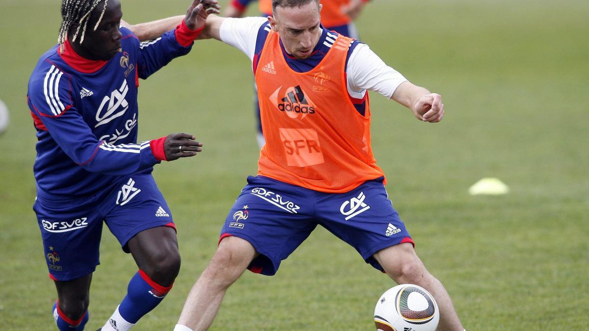 Bacary Sagna, Franck Ribéry