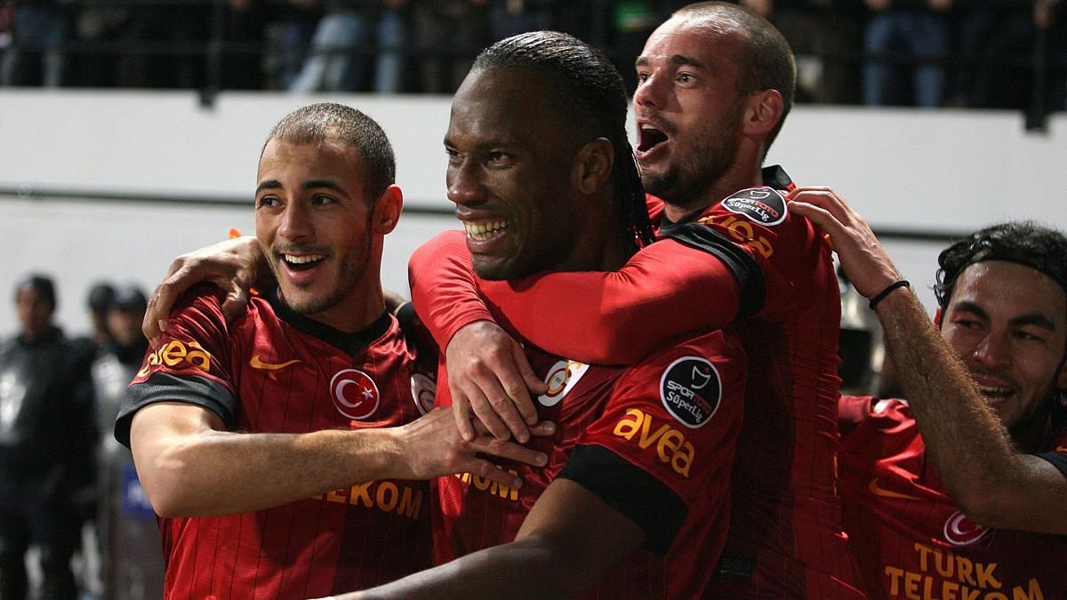 Didier Droba, Wesley Sneijder - Galatasaray