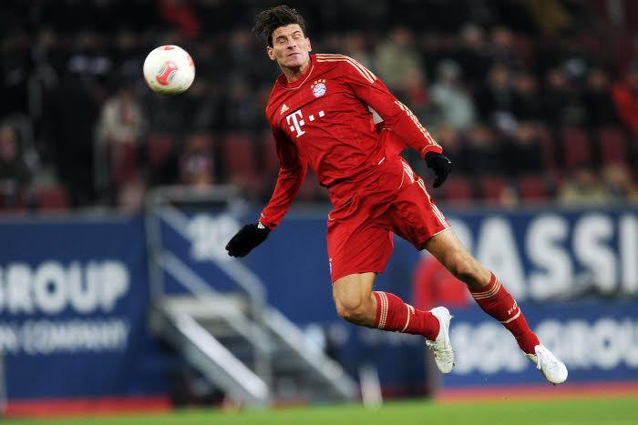 Mario Gomez Bayern Munich