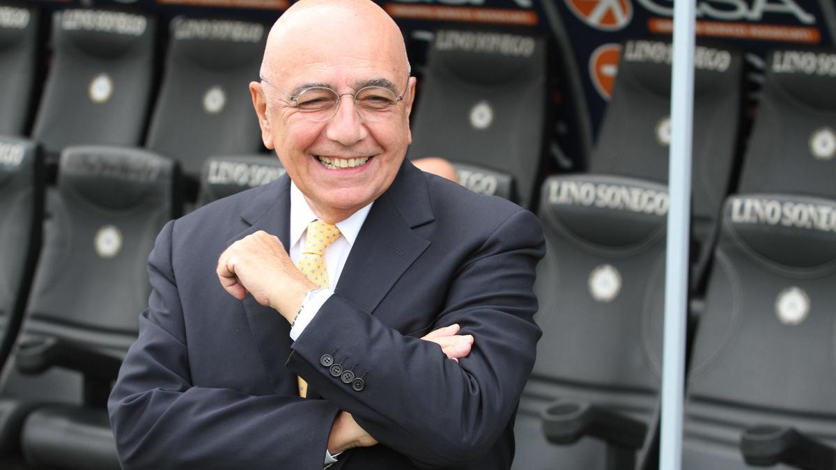 Adriano Galliani, Milan AC
