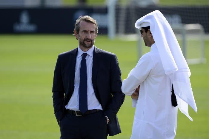 Jean-Claude Blanc et Nasser Al-Khelaïfi, PSG