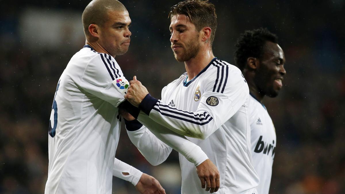 Pepe et Sergio Ramos, Real Madrid
