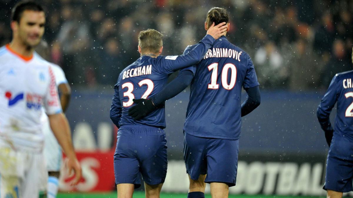 Beckham - Ibrahimovic