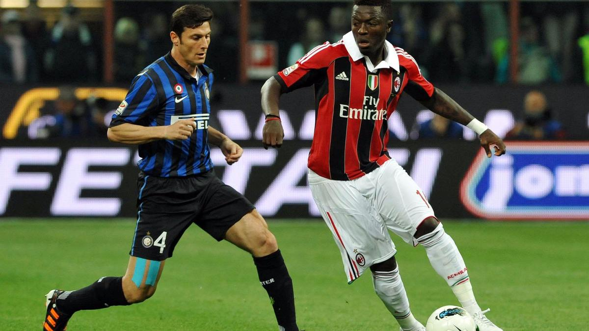 Sulley Muntari - Milan AC