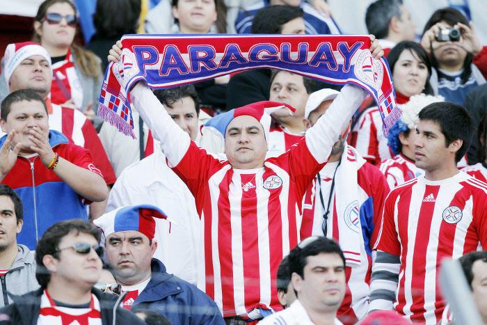 Paraguay supporters