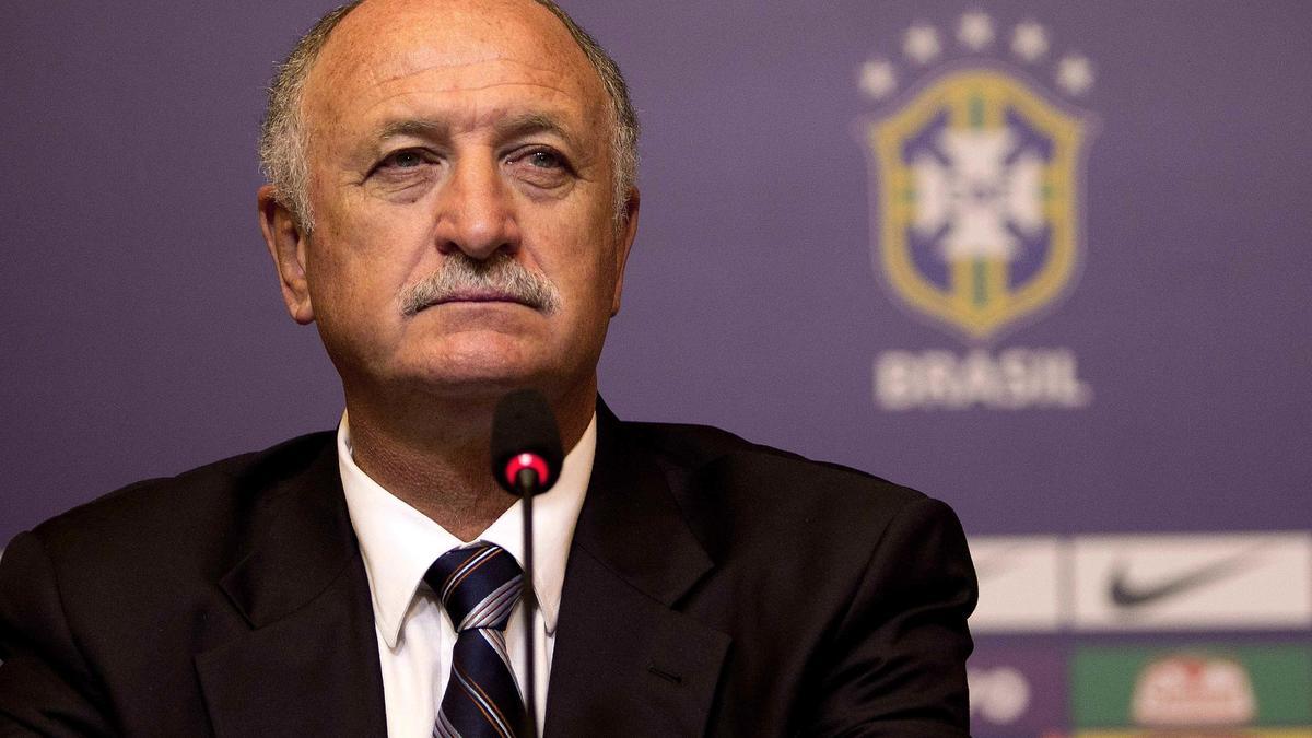 Luiz Felipe Scolari, Brésil