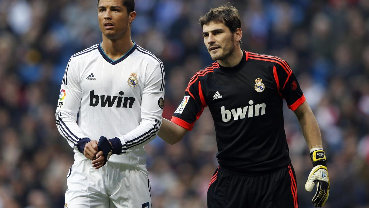 Cristiano Ronaldo et Iker Casillas, Real Madrid