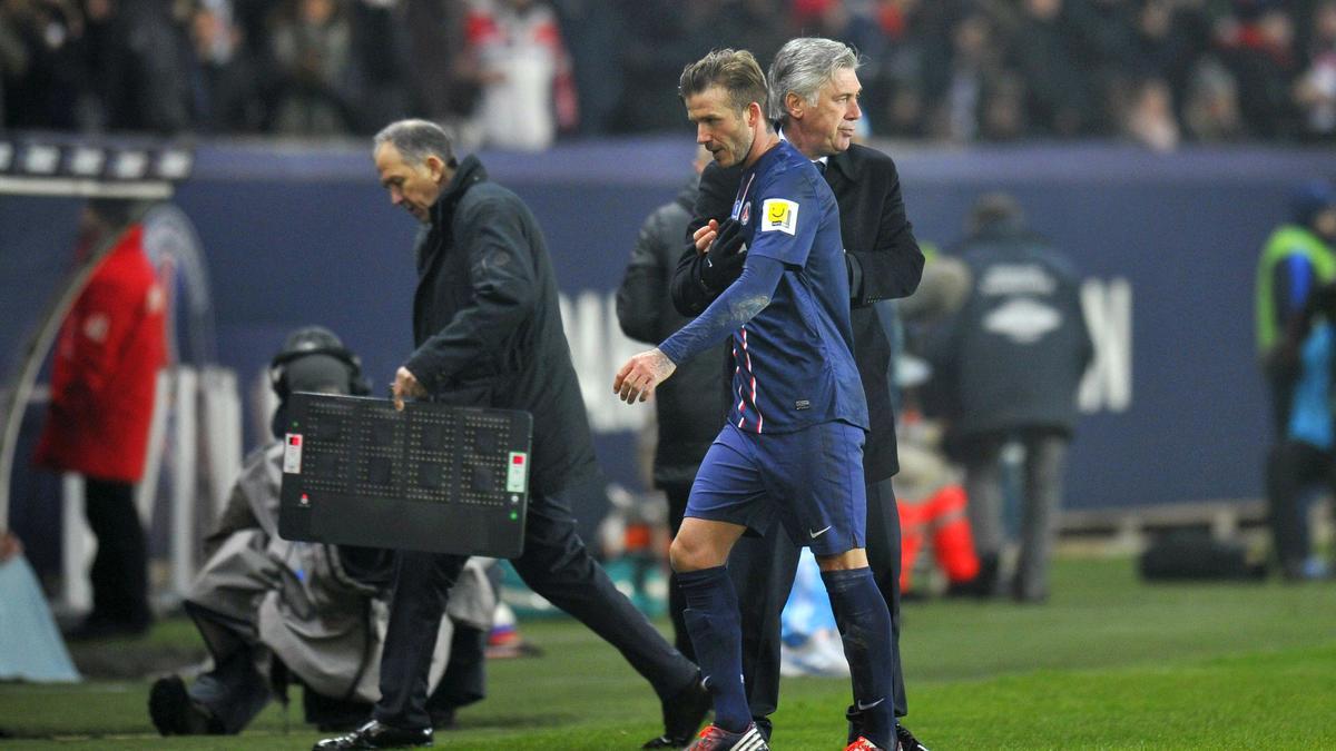 Ancelotti - Beckham