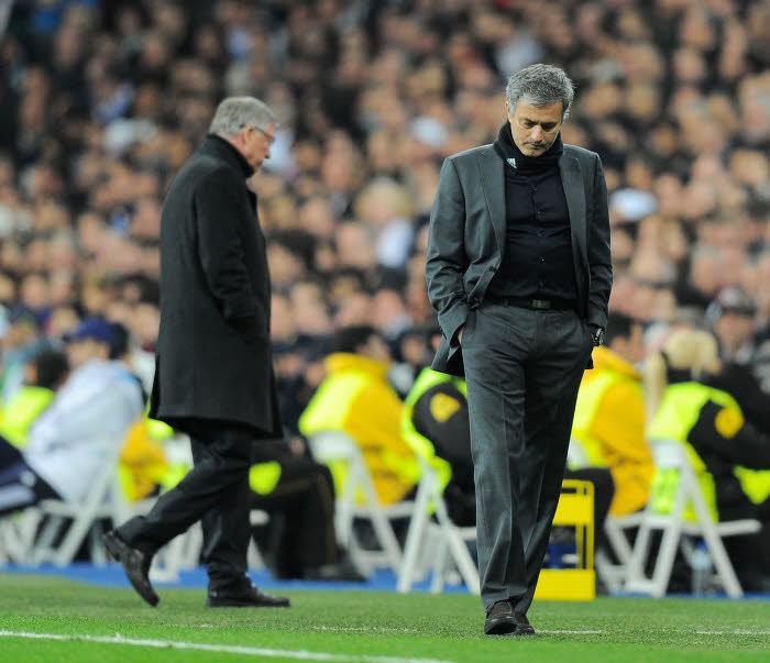 Sir Alex Ferguson et José Mourinho