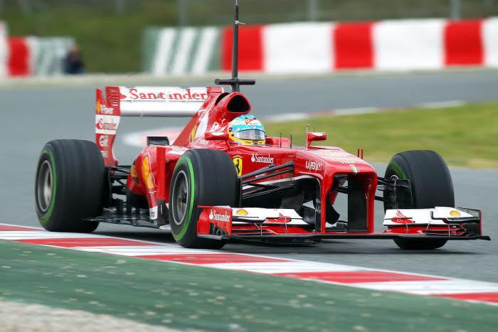 Alonso, Ferrari