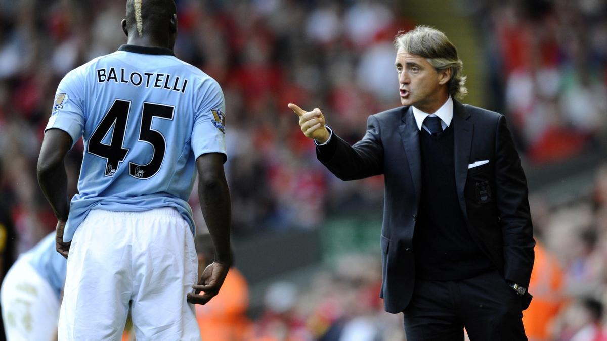 Balotelli - Mancini
