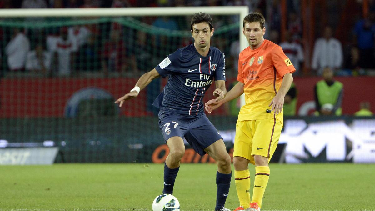Javier Pastore-Lionel Messi